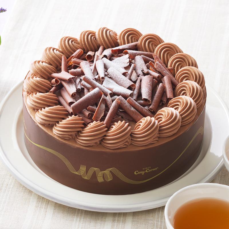 デコレーション チョコレート ケーキ チョコレートスポンジで チョコレートケーキ