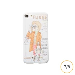 [チービー]FUDGE Cover Girl for iPhone 8/7