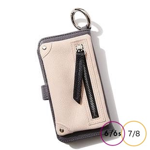[エーシーン]B&C Flip pocket case for iPhone 8/7/6s/6