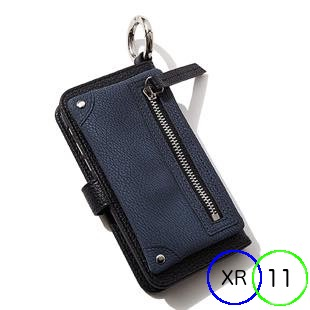 [エーシーン]B&C Flip pocket case for iPhone 11/XR