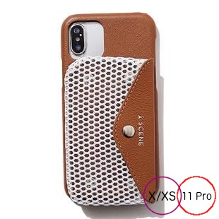 [エーシーン]B&C mesh case for iPhone X/XS/11Pro