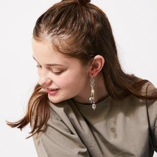 [モントレソー]mixed gold and silver pierce(ピアス)