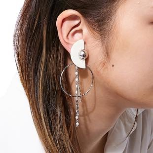 [モントレソー]half circle and peal pierce(ピアス)