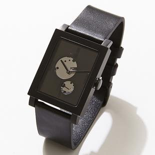 [ノーマンデー]Open Heart Black NM-56231 39×32mm(時計)
