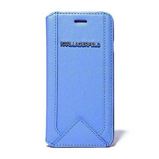 KARL LAGERFERD Classic for iPhone6/6s Booktype Case  light blue