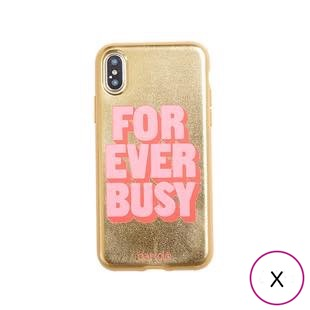 [バン・ドー]ban.do 背面ケースForever Busy for iPhone X