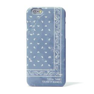 BLUEWHITE バンダナペイズリー GRAY for iPhone 6/6s