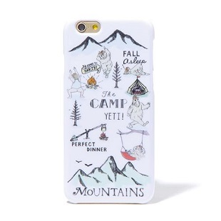 BLUEWHITE The CAMP グリーン for iPhone 6/6s