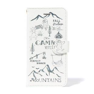 BLUEWHITE The CAMP 手帳型ケース mono for iPhone 6/6s