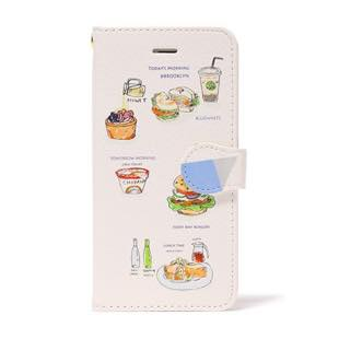 BLUEWHITE LOCAL FOOD 手帳型ケース for iPhone 6/6s