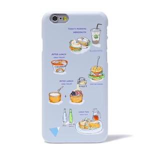 BLUEWHITE LOCAL FOOD MAT Grey for iPhone 6/6s