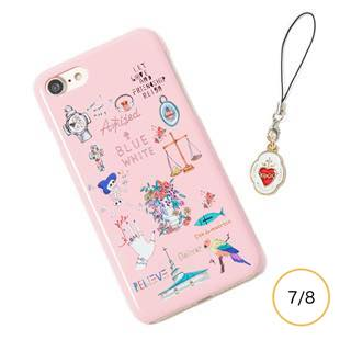 [ブルーホワイト]Amijed+BLUEWHITE Pink for iPhone 7/8