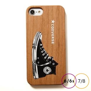 [コンバース]Shoes LOGO WOOD for iPhone 8/7/6s/6