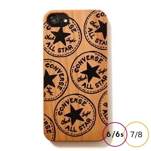 [コンバース]Handwriting LOGO WOOD for iPhone 8/7/6s/6