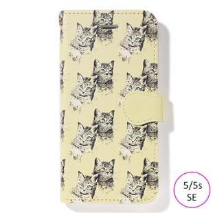 [ファッジホリデーサーカス]FUDGE Holiday Circus manipuri collection cat diary for iPhone 5/5s/SE