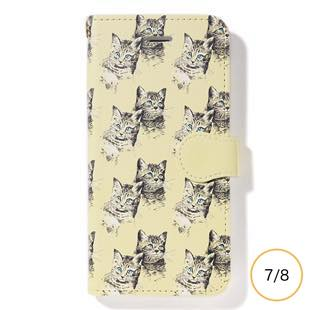 [ファッジホリデーサーカス]FUDGE Holiday Circus manipuri collection cat diary for iPhone 8/7