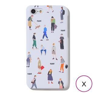 [ファッジホリデーサーカス]FUDGE Holiday Circus FUDGEガール DAY for iPhone  X / XS