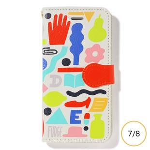 [ファッジホリデーサーカス]FUDGE Holiday Circus GEOMETORIC PATTERN diary for iPhone  8/7
