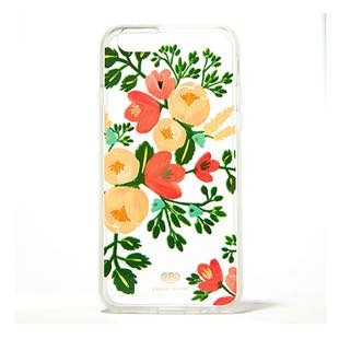 RIFLE PAPER Co. Clear Case Peach for iPhone6/6s