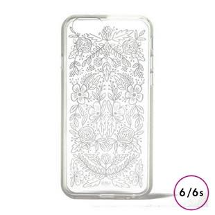 RIFLE PAPER Co. Clear Case Floral Lace for iPhone6/6s