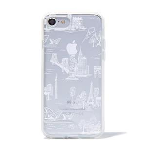 RIFLE PAPER CO. Clear City Toile for iPhone 7