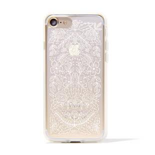 RIFLE PAPER CO. Clear Floral Lace for iPhone 7