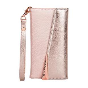 Case-Mate Leather FolioWristlet Case Rose Gold for iPhone 8 / 7 / 6s / 6