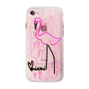 Case-Mate Naked Tough City Print Miami Flamingo  for iPhone 8 / 7 / 6s / 6