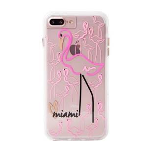 Case-Mate Naked Tough City Print Miami Flamingo  for iPhone 7 Plus / 6s Plus / 6 Plus
