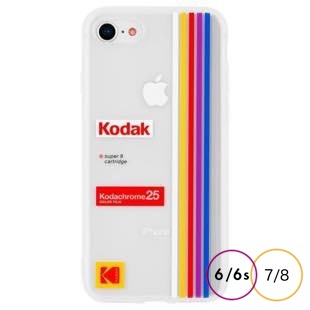 [ケースメイト]Case-Mate Kodak Striped Kodachrome Super8 for iPhone 8/7/6s/6