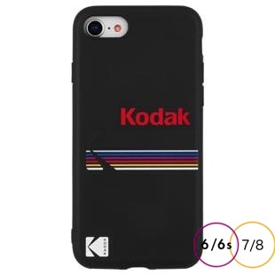 [ケースメイト]Case-Mate Kodak Matte Black+Shiny Black Logo for iPhone 8/7/6s/6