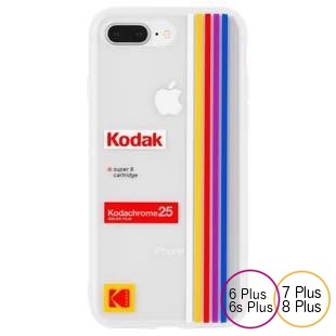 [ケースメイト]Case-Mate Kodak Striped Kodachrome Super8  for iPhone 8Plus/7Plus/6sPlus/6Plus