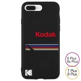 [ケースメイト]Case-Mate Kodak Matte Black+Shiny Black Logo  for iPhone 8Plus/7Plus/6sPlus/6Plus