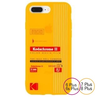 [ケースメイト]Case-Mate Kodak Vintage Kodachrome II Print  for iPhone 8Plus/7Plus/6sPlus/6Plus