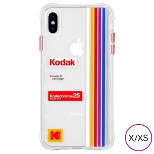 [ケースメイト]Case-Mate Kodak Striped Kodachrome Super8 for iPhone X/XS