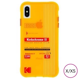 [ケースメイト]Case-Mate Kodak Vintage Kodachrome II Print for iPhone X/XS