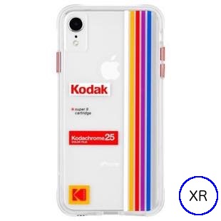 [ケースメイト]Case-Mate Kodak Striped Kodachrome Super8 for iPhone XR