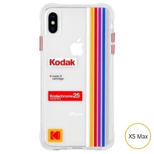 [ケースメイト]Case-Mate Kodak Matte Black+Shiny Black Logo for iPhoneXS Max