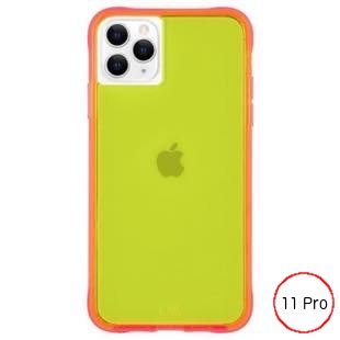 [ケースメイト]Case-Mate Tough NEON - Green/Pink for iPhone 11 Pro