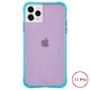 [ケースメイト]Case-Mate Tough NEON - Purple/Turquoise for iPhone 11 Pro