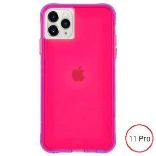 [ケースメイト]Case-Mate Tough NEON - Pink/Purple for iPhone 11 Pro