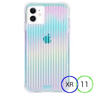 [ケースメイト]Case-Mate Tough Groove - Iridescent for iPhone 11/XR