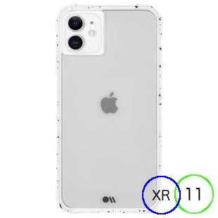 [ケースメイト]Case-Mate Tough Speckled White for iPhone 11/XR