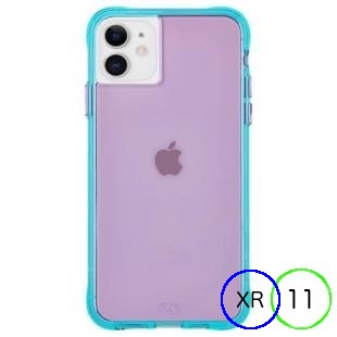 [ケースメイト]Case-Mate Tough NEON - Purple/Turquoise for iPhone 11/XR