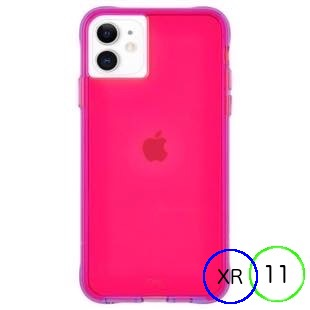 [ケースメイト]Case-Mate Tough NEON - Pink/Purple for iPhone 11/XR