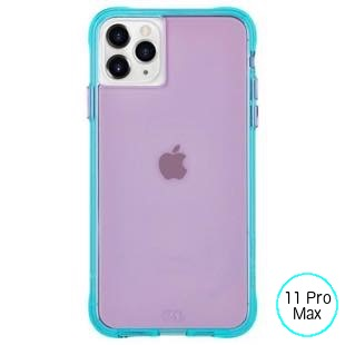[ケースメイト]Case-Mate Tough NEON - Purple/Turquoise for iPhone 11 Pro Max