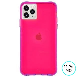 [ケースメイト]Case-Mate Tough NEON - Pink/Purple for iPhone 11 Pro Max