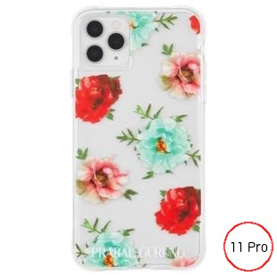 [ケースメイト]PRABAL GURUNG×Case-Mate - Embroidered Clear Floral for iPhone 11 Pro