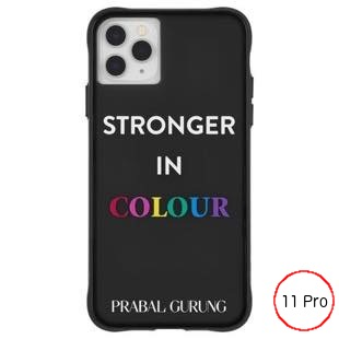 [ケースメイト]PRABAL GURUNG×Case-Mate - Stronger in Color for iPhone 11 Pro