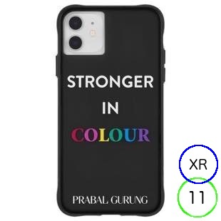 [ケースメイト]PRABAL GURUNG×Case-Mate - Stronger in Color for iPhone 11/XR